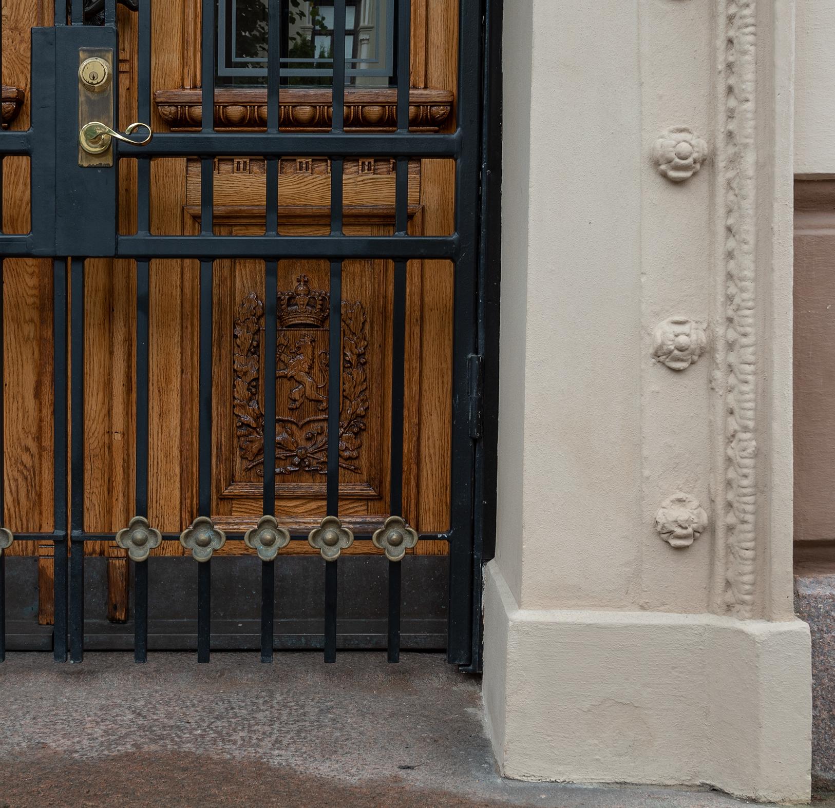Villa Parafina – Sikring av hovedinngang